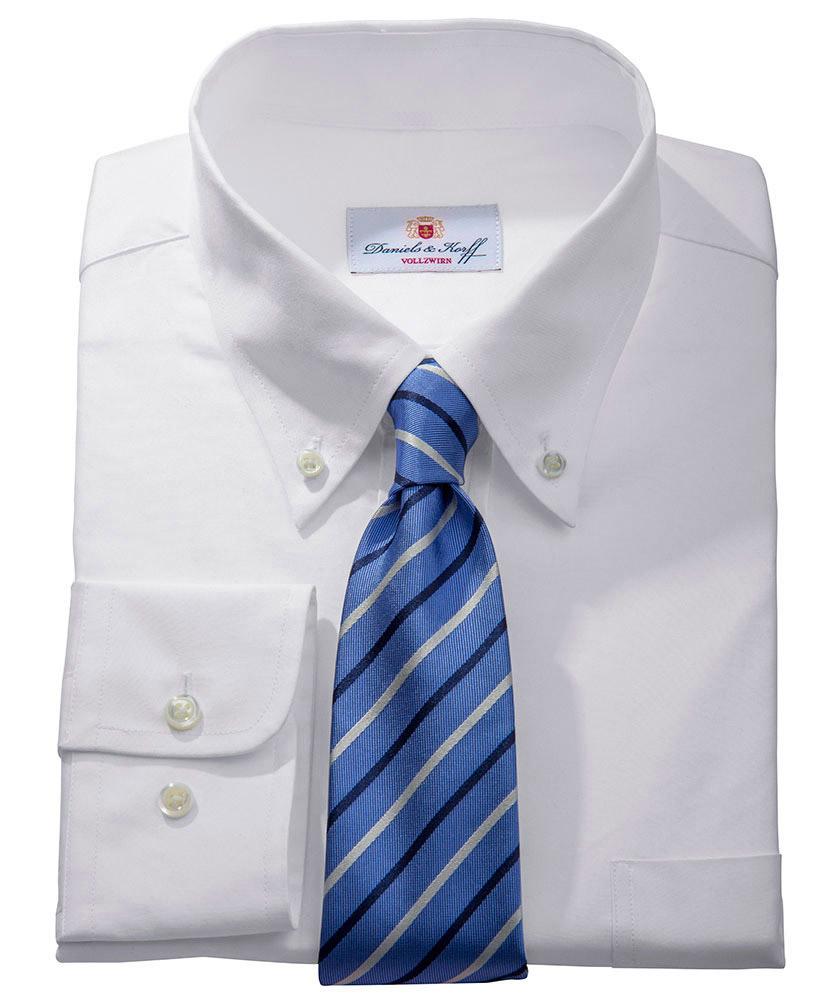 Vollzwirn pin point hemd 100 2 wei uni im daniels - Vollzwirn hemd ...
