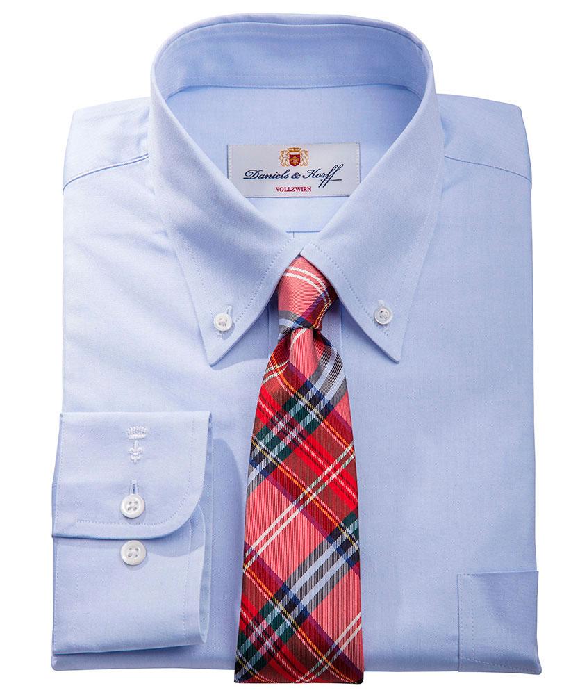 Vollzwirn pin point hemd 100 2 blau uni im daniels - Vollzwirn hemd ...
