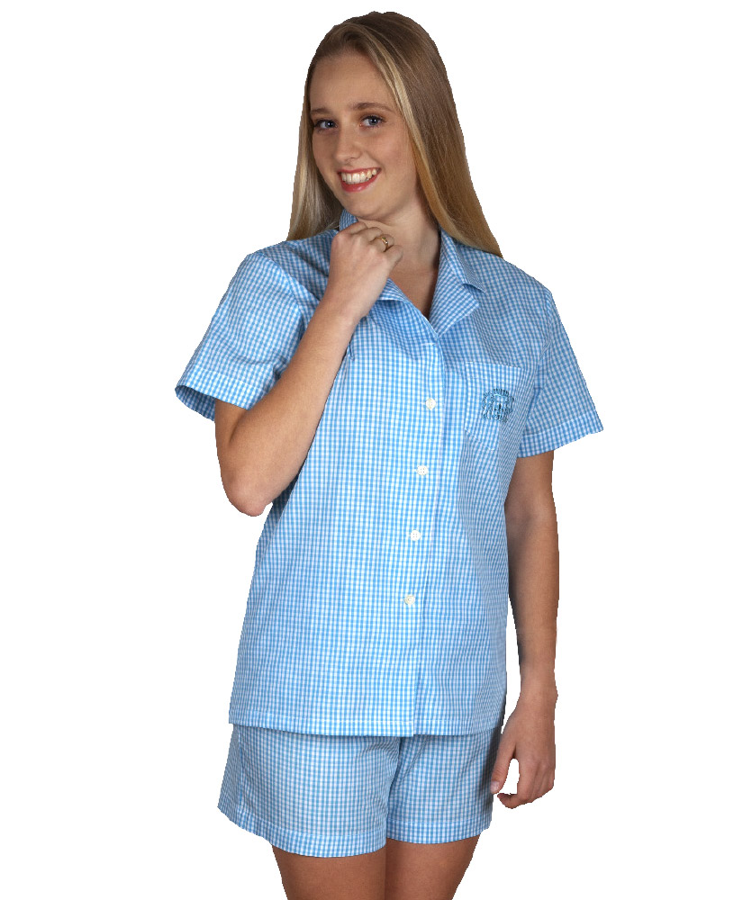 hot sale online ec55a cda6d Damen Pyjama kurz,