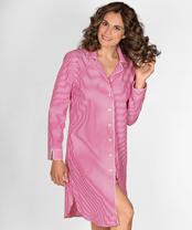 nachthemd pink gestreift im daniels korff shop. Black Bedroom Furniture Sets. Home Design Ideas