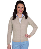 Damen-Merino-Strickjacke