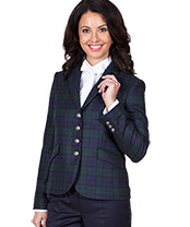 Damen Black-Watch-Blazer