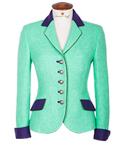 Damen Country-Bouclé-Blazer