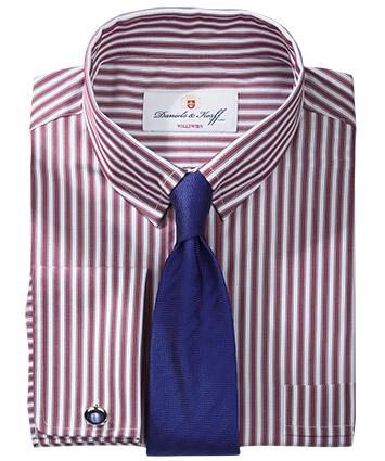 Vollzwirn hemd mehrfarbig gestreift im daniels korff shop - Vollzwirn hemd ...