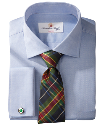 Vollzwirn hemd 100 2 blau uni im daniels korff shop - Vollzwirn hemd ...