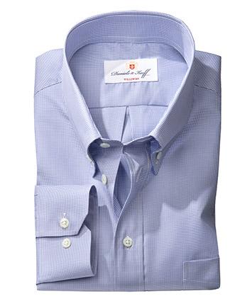 Vollzwirn twill hahnentritt hemd 100 2 mehrfarbig im - Vollzwirn hemd ...